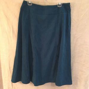 Dresses & Skirts - Dress Barn teal skirt